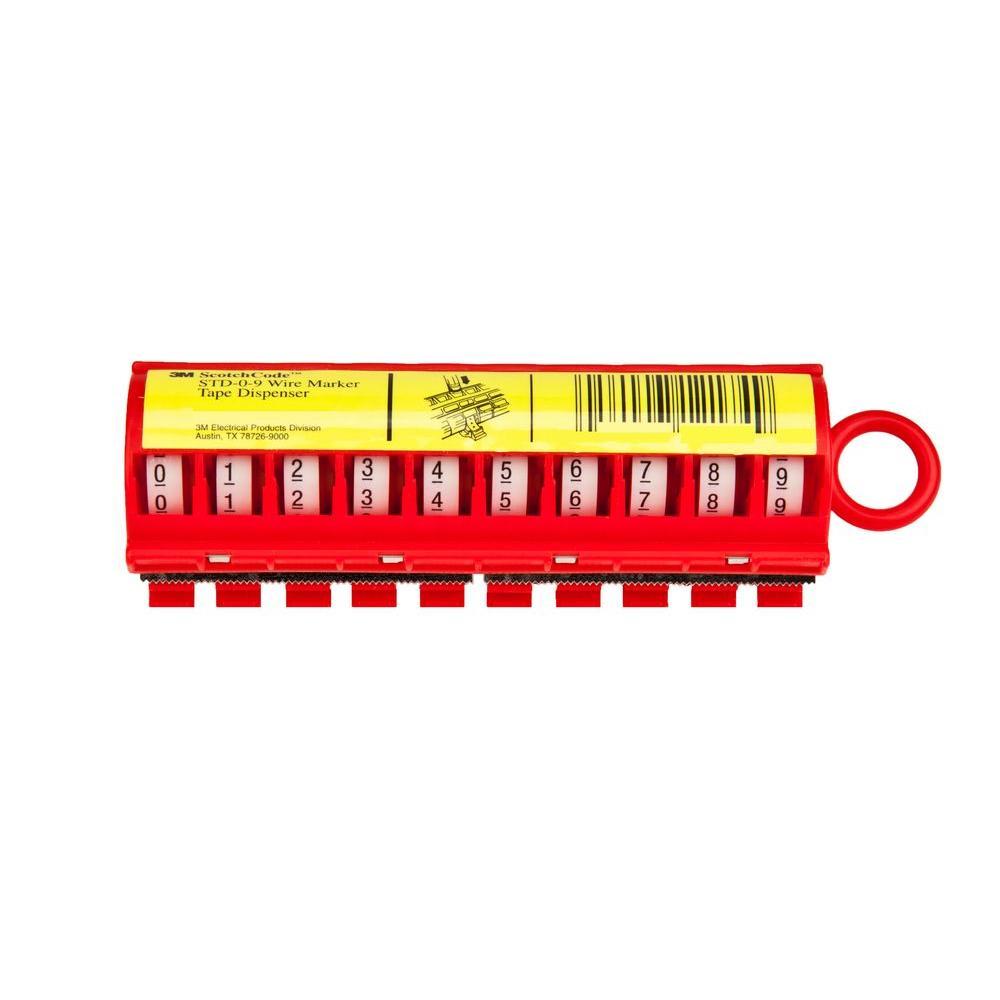 #0 - # 9 Wire Marker Tape Dispenser