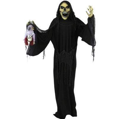 64 in. Touch Activated Animatronic Reaper