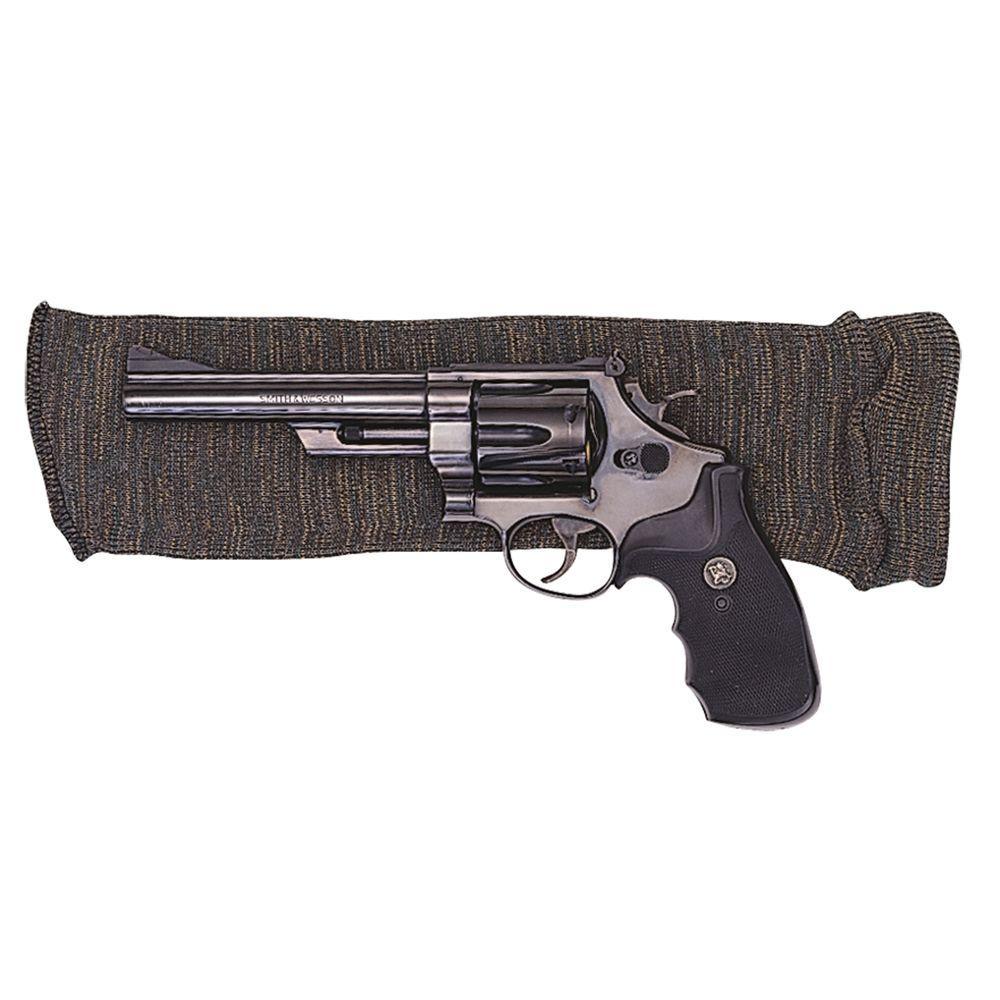 14 in. x 4 in. Grey Knit Gun Sock for Handguns