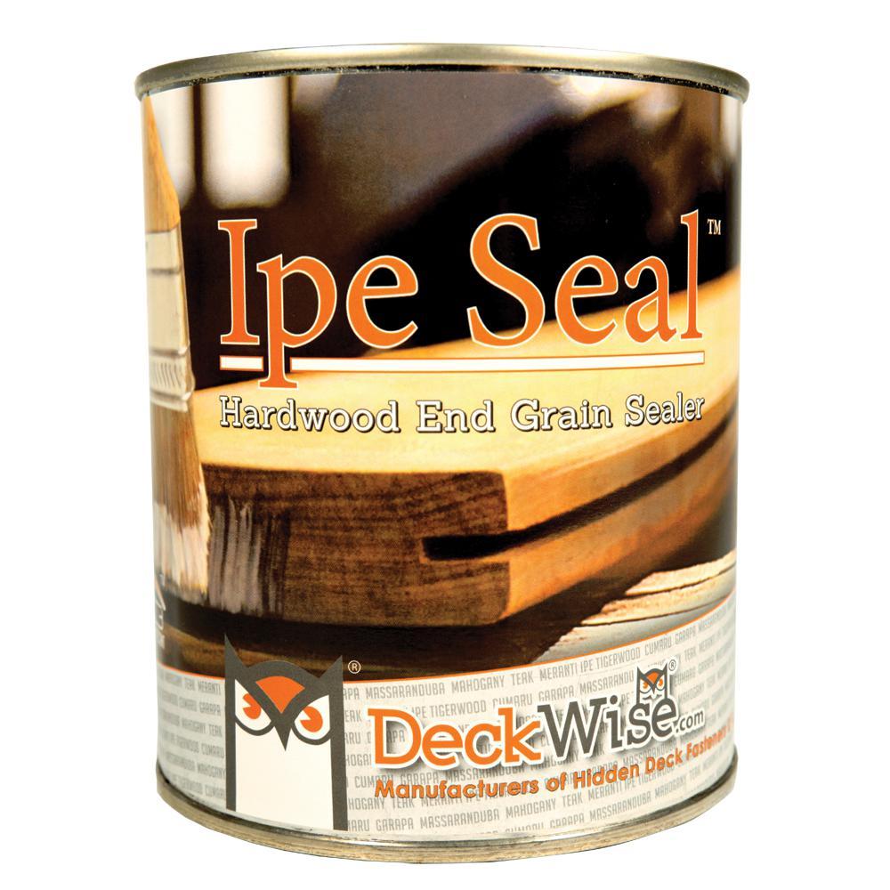 Ipe Seal 1 qt. Clear Waterproofing End Grain Seal for Hardwood