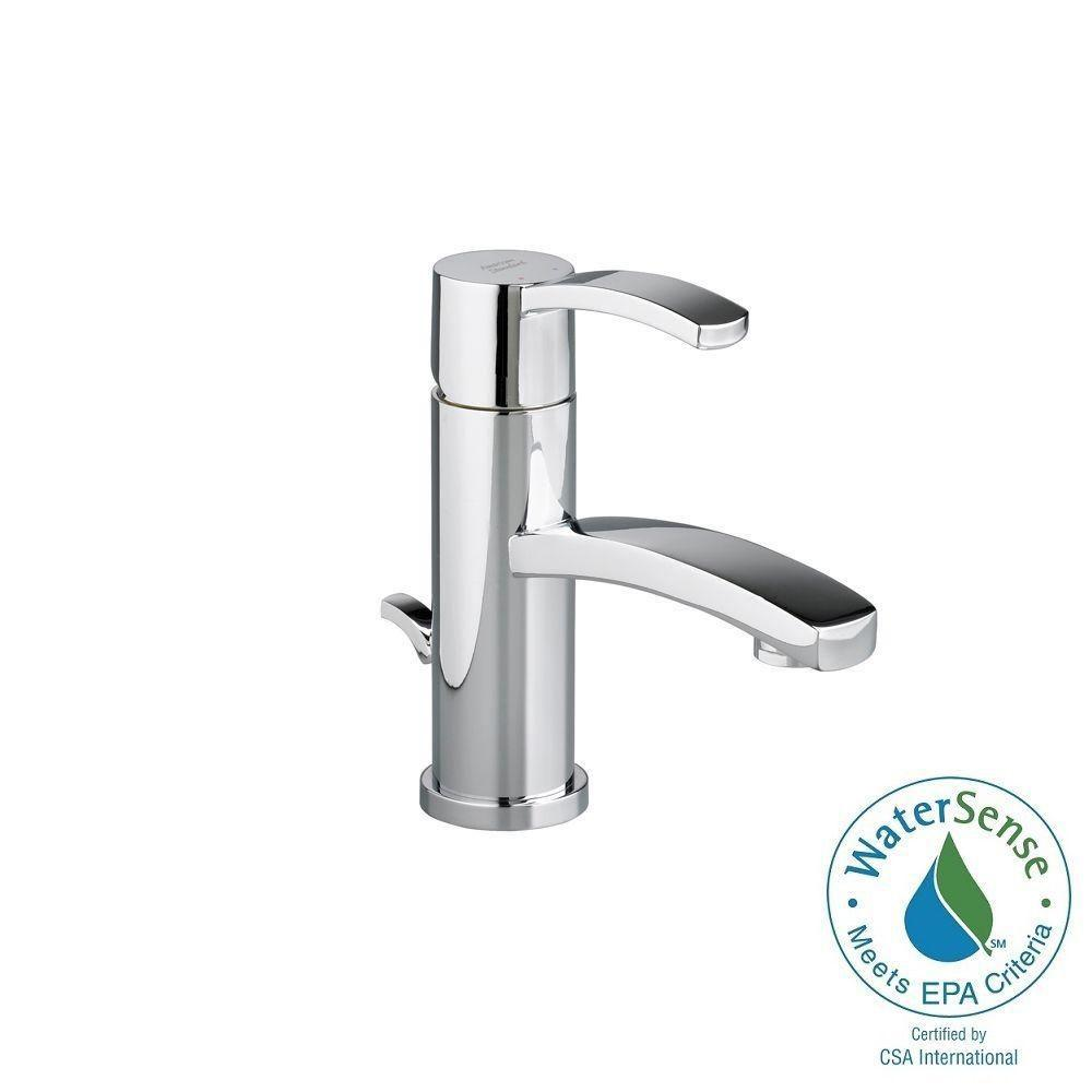 Berwick Monoblock Single Hole Single Handle Low-Arc Bathroom Faucet with Speed