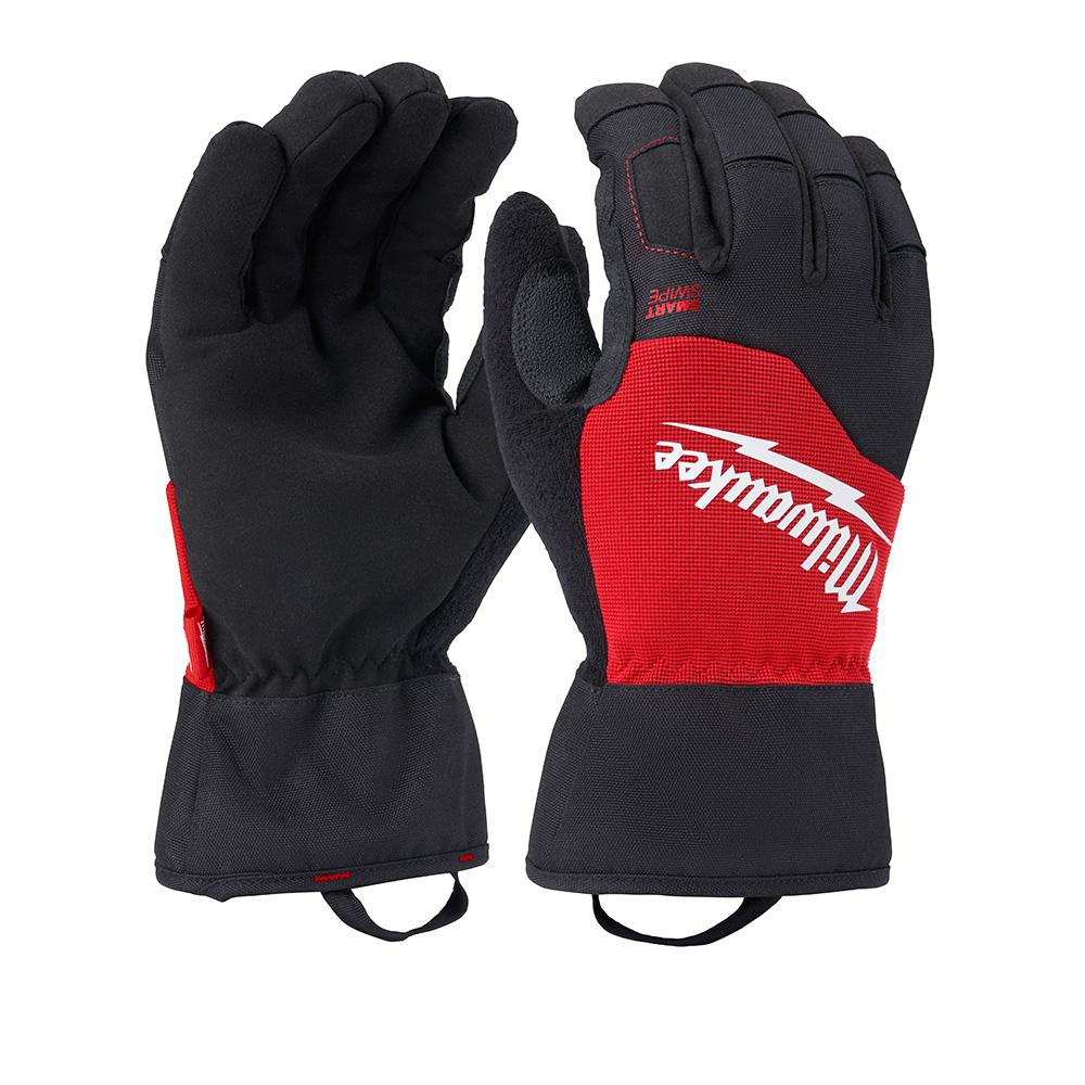 Milwaukee Milwaukee Large Winter Performance Work Gloves, Adult Unisex, Black