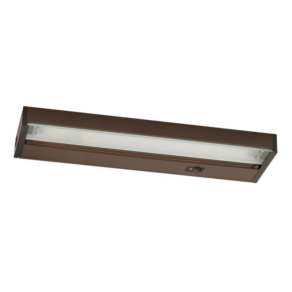 12 in. Antique Bronze LED Under Cabinet Light