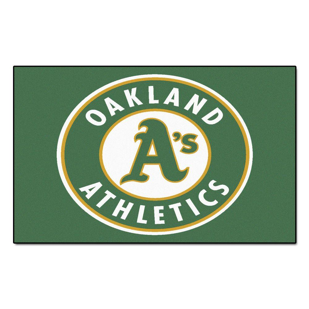 FANMATS Oakland Athletics 5 ft. x 8 ft. Ulti-Mat