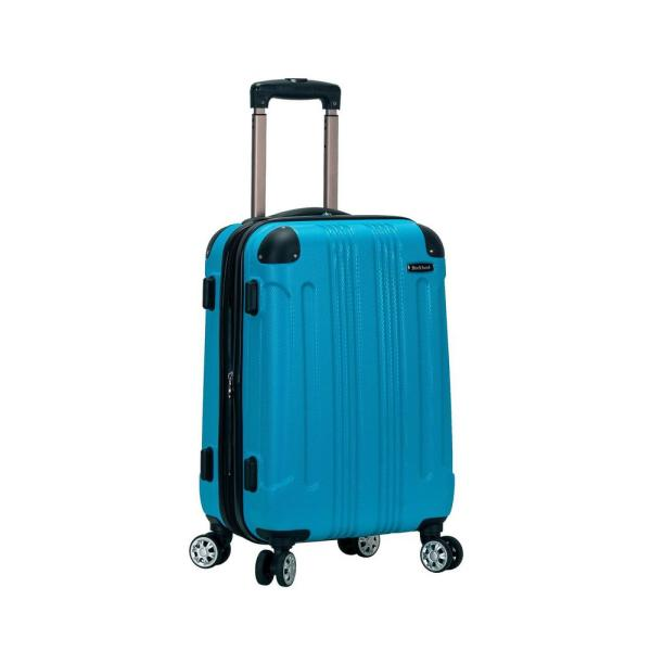 F1901 Expandable Sonic 20 in. Hardside Spinner Carry On Luggage, Turquoise