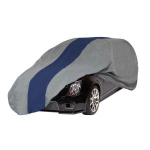 Click here to buy Duck Covers Double Defender Station Wagon Semi-Custom Car Cover Fits up to 16 ft. 8 in. by Duck Covers.