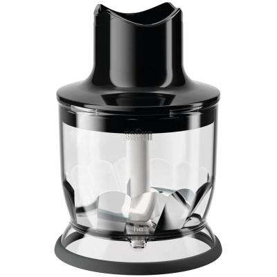 1.5-Cup Chopper Attachment for MultiQuick Hand Blenders in Black