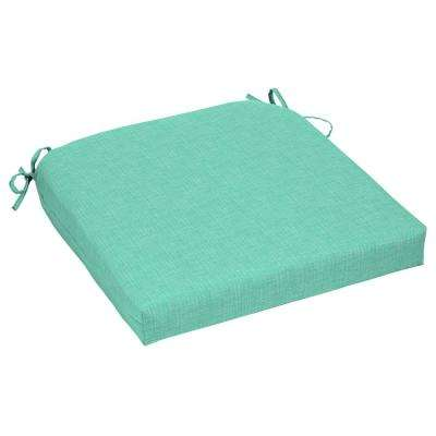 CushionGuard Seaglass Contoured Outdoor Seat Cushion