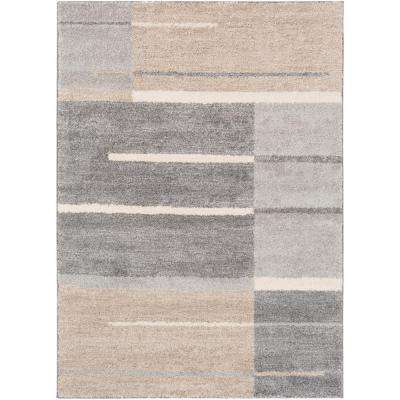 Fowler Medium Gray 5 ft. x 7 ft. 6 in. Indoor Area Rug