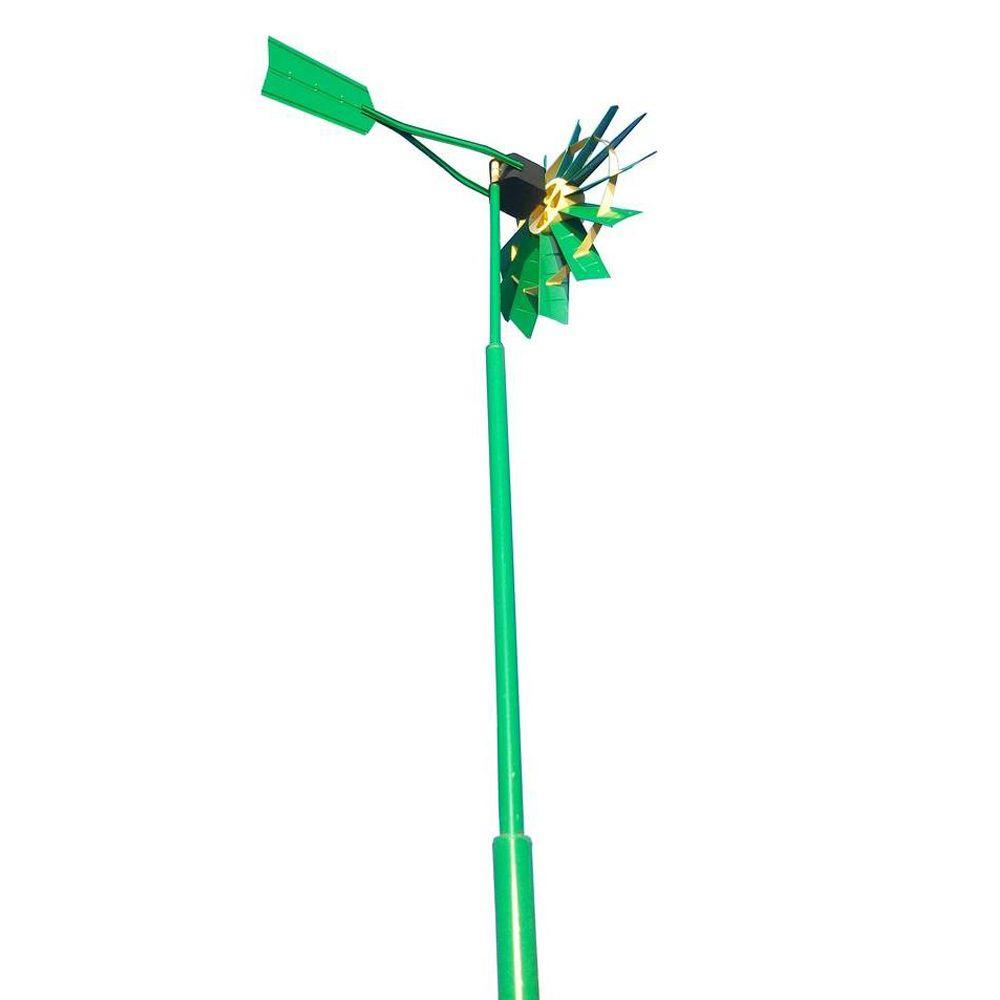 Outdoor Water Solutions Two Color 25 ft. Telescopic Windmill Aeration System