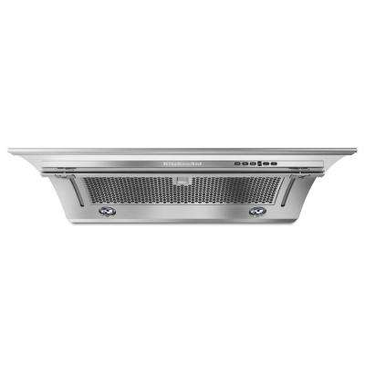 36 in. Convertible Under Cabinet Slide-Out Range Hood in Stainless Steel