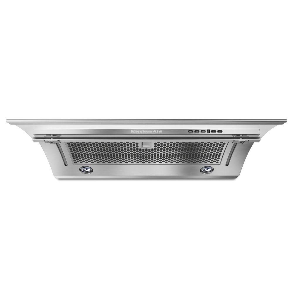 Exceptional KitchenAid 36 In. Convertible Slide Out Range Hood In Stainless  Steel KXU2836YSS   The Home Depot