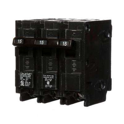 15 Amp Three-Pole Type MP Circuit Breaker