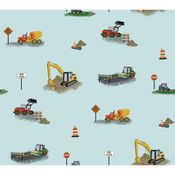 York Wallcoverings Waverly Kids Can You Dig It Wallpaper WK6945