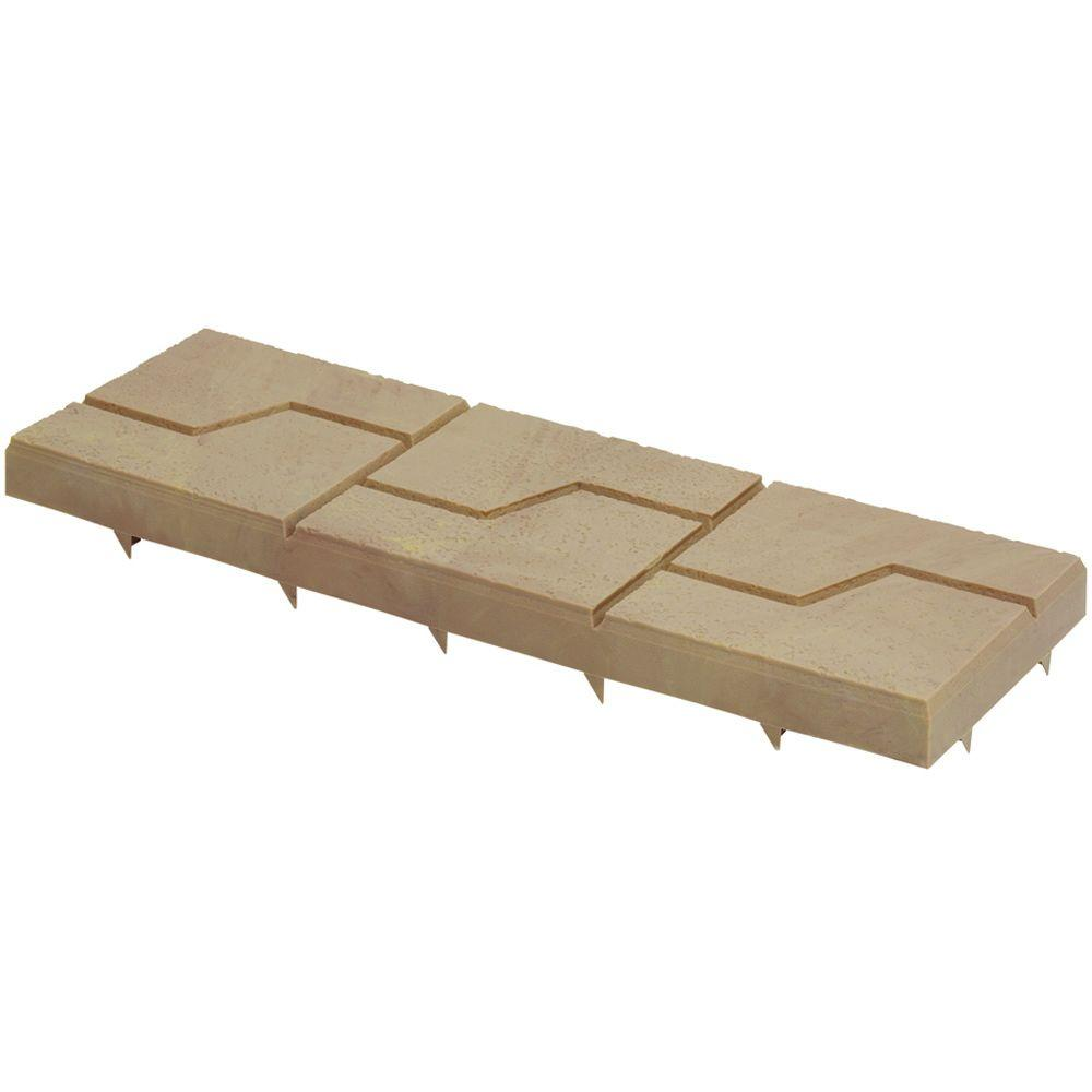 Emsco Keyway 8 in. x 24 in. Plastic Resin Driveway Pavers (5-Pack)