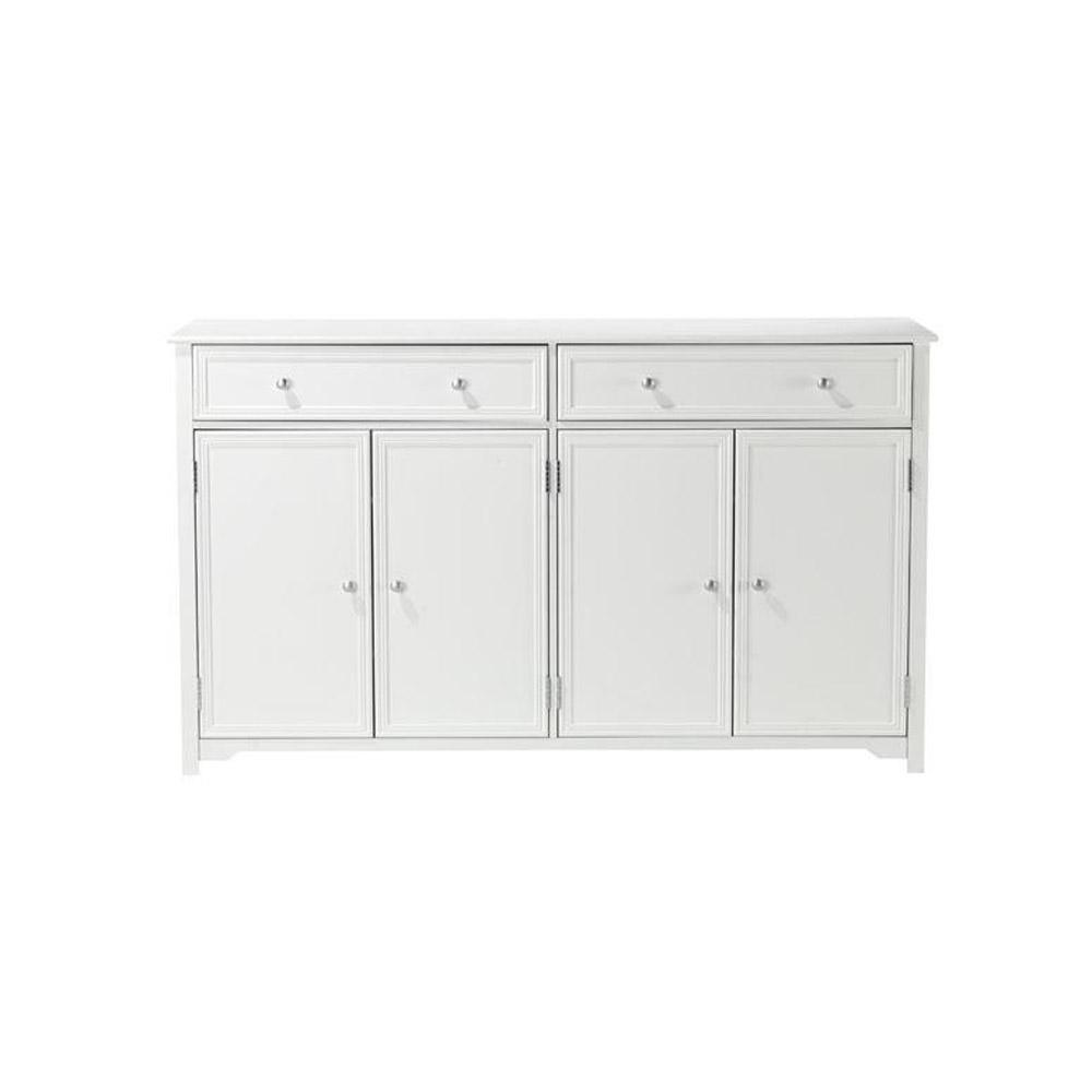 Captivating Home Decorators Collection Oxford White 60 In. Buffet