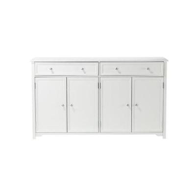Oxford White 60 in. Buffet