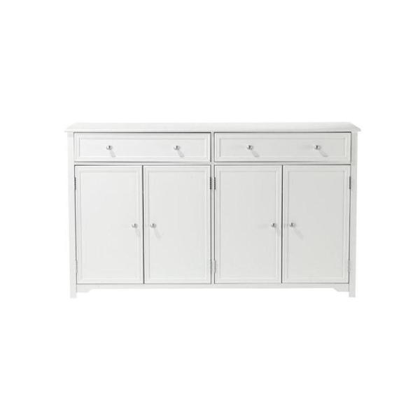 Home Decorators Collection Oxford White 60 In Buffet Bf 24934 Wh
