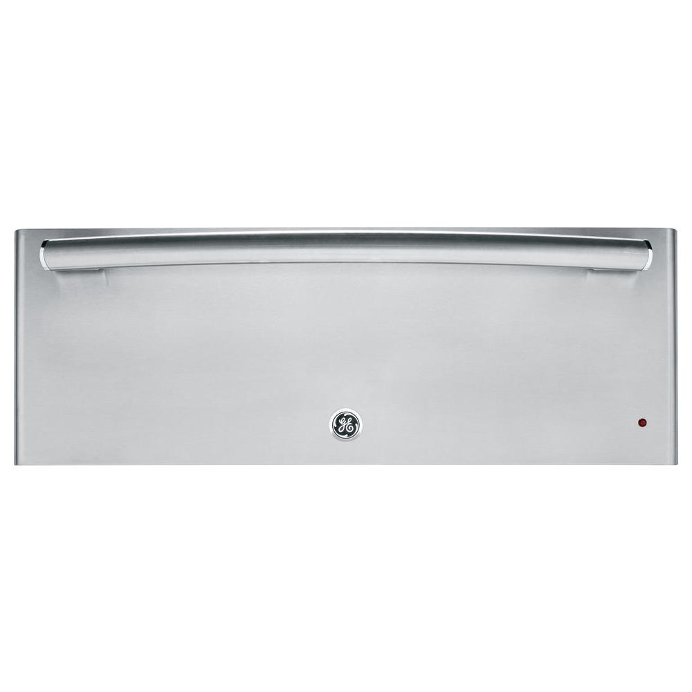 GE Profile 27 in. Warming Drawer in Stainless Steel