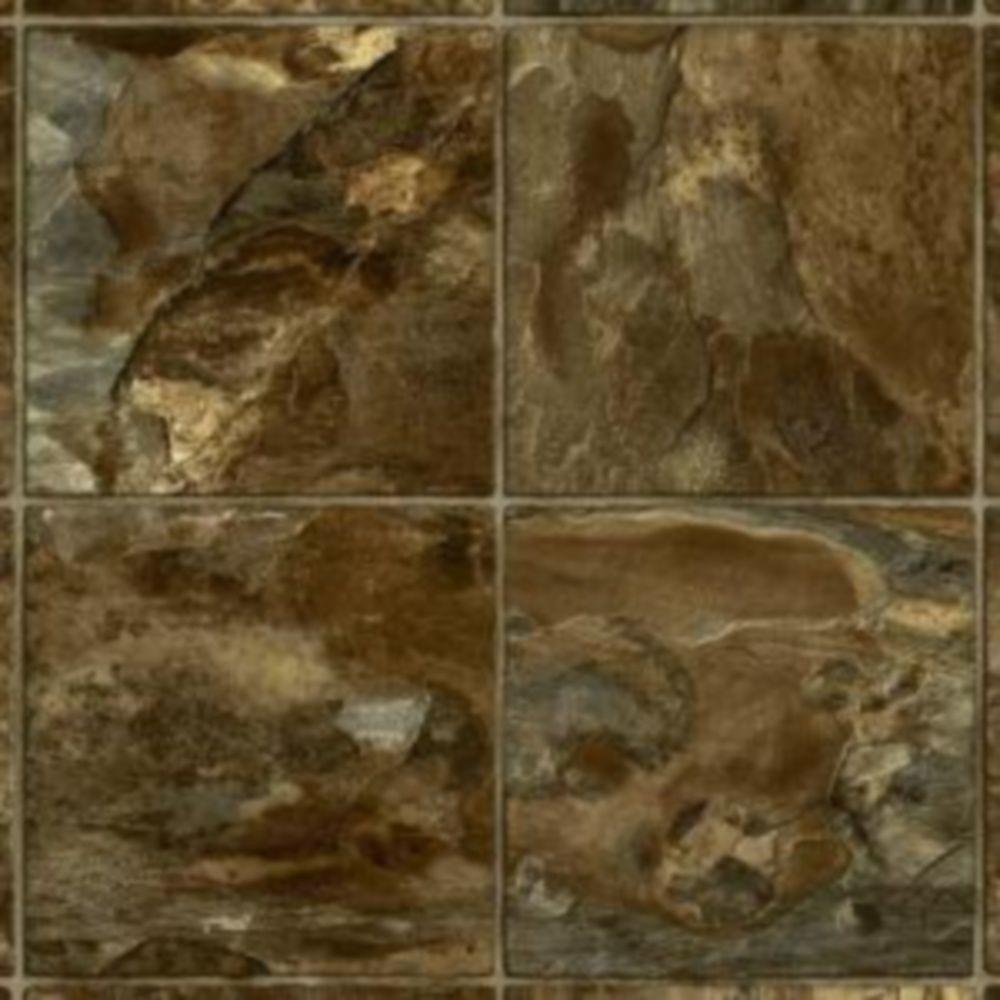 Take Home Sample - River Park Slate Burnt Sienna Vinyl Plank