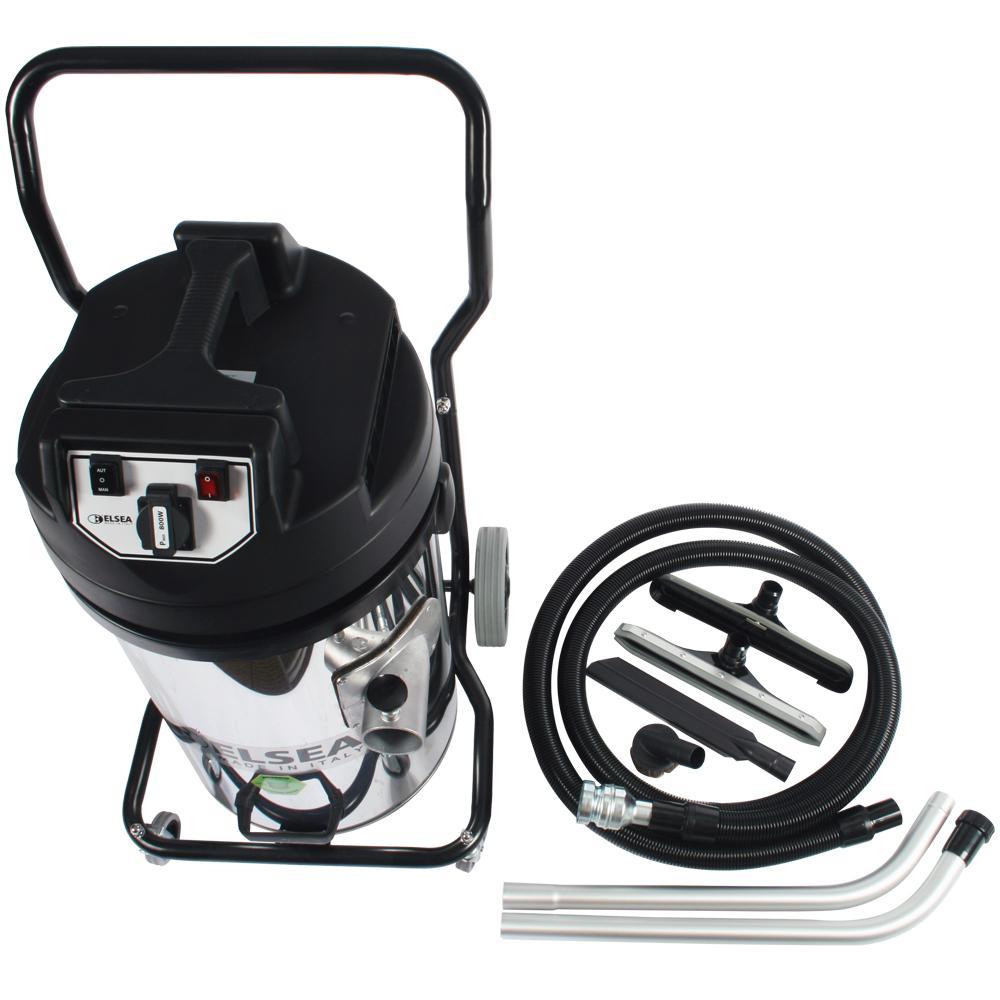 20 gal. Wet/Dry Trantor Industrial 2-Motor Vacuum with Filter Shaker