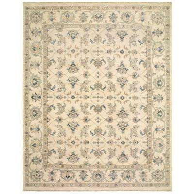 Kanika Silver 8 ft. x 10 ft. Indoor Area Rug