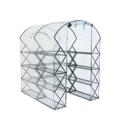 6 ft. 5 in. H x 4 ft. 5 in. W x 6 ft. D Harvest House Pro Clear Cover