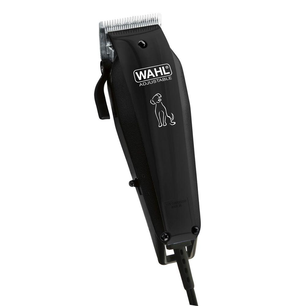 Basic Series Pet Clipper Kit in Black (10-Piece)