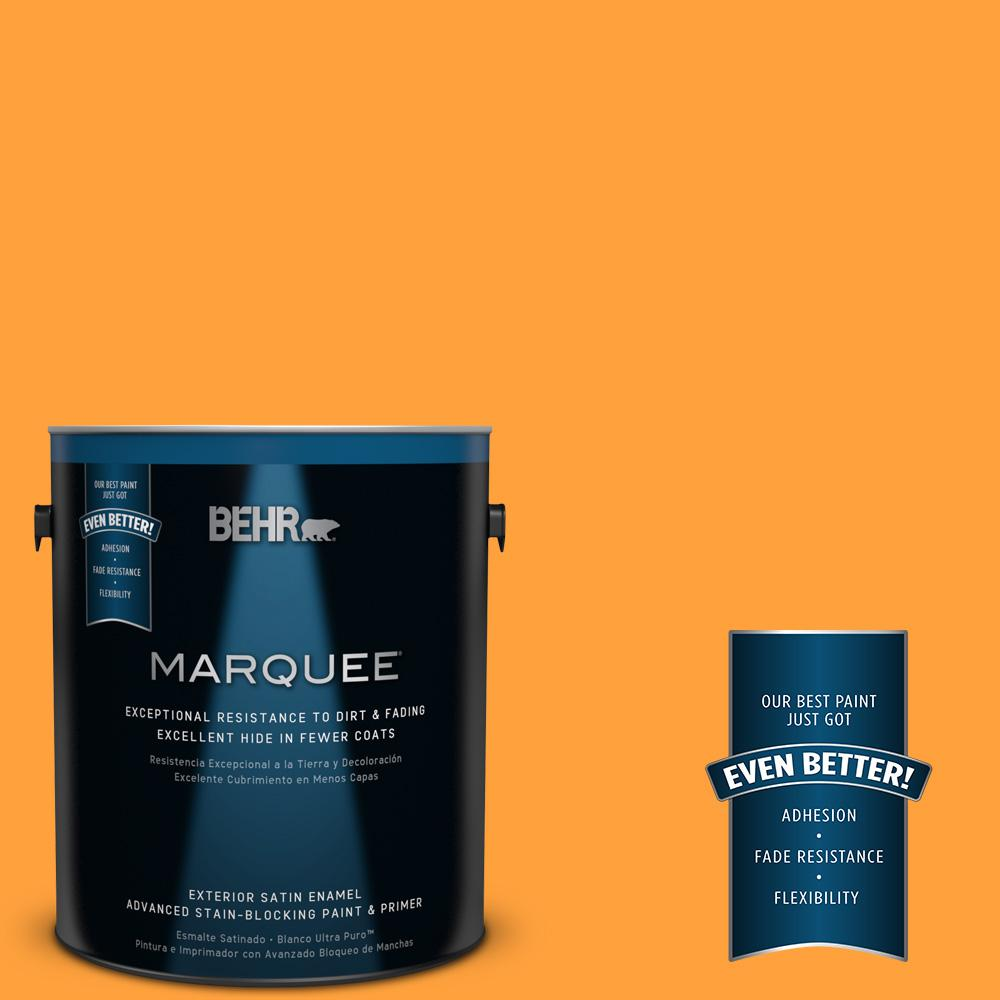 BEHR MARQUEE 1-gal. #S-G-300 Hawaiian Passion Satin Enamel Exterior Paint