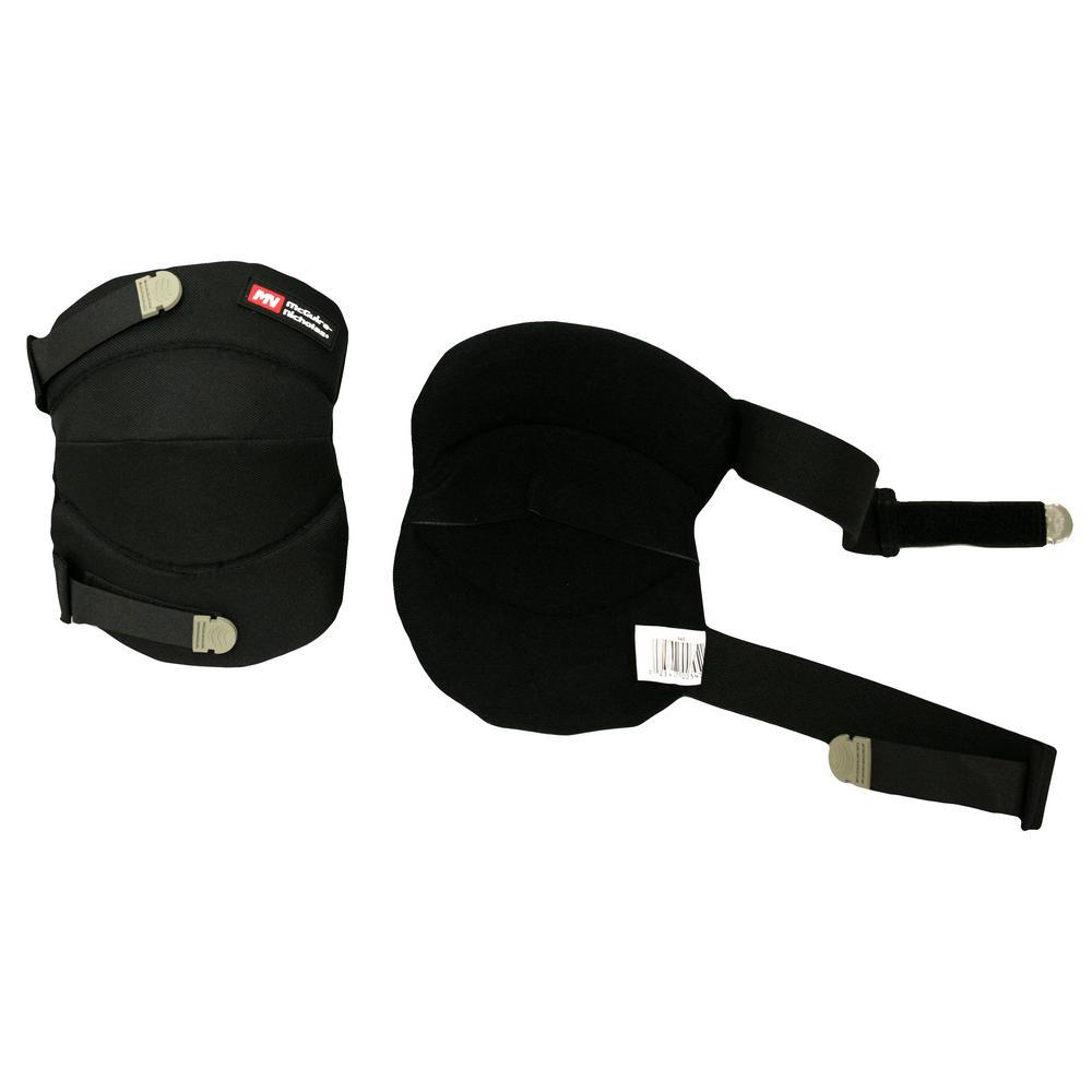 Soft Cushion Black Knee Pads