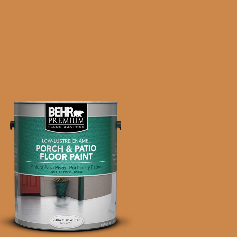 Behr Premium 1 Gal M240 7 Golden Pumpkin Low Lustre