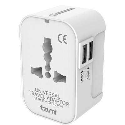 Universal Travel Adapter with USB Ports for US, EU, UK and AUS