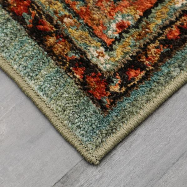Home Decorators Collection Mariah Aquamarine 8 Ft X 10 Ft Area Rug 635619 The Home Depot
