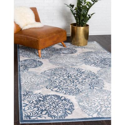 Aberdeen Chatsworth Blue 8 ft. x 10 ft. Area Rug