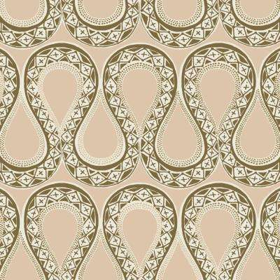 Genevieve Gorder Sex y Serpentine Self-Adhesive, Removable Wallpaper