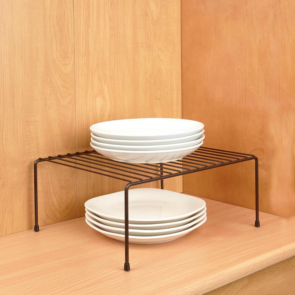 Laura Ashley Bronze Medium Helper Shelf, Bronze/Copper Me...