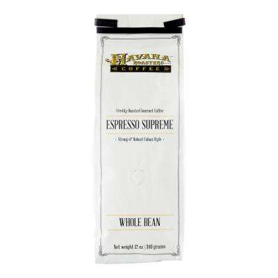 Espresso Supreme 12 oz. Coffee Bag Coffee Whole Beans (12-Bags)