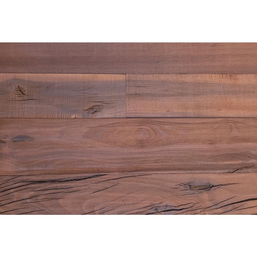 Smart Paneling Holey Wood 50 28 In X 12 Reclaimed Decorative Wall Panel Brown Color 10 Pack 11131 The
