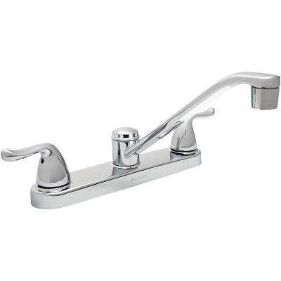 Constructor 2-Handle Standard Kitchen Faucet in Chrome