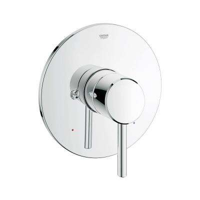 Concetto 1-Handle Valve Trim Kit in StarLight Chrome (Valve Sold Separately)