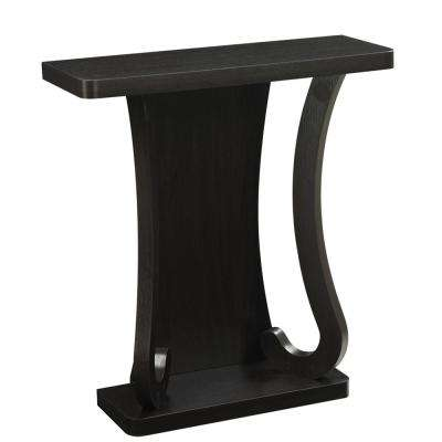 Newport Mozart Espresso Console Table