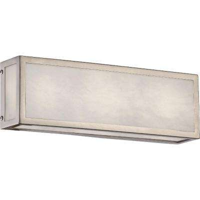 1-Light Brushed Nickel Bath Light