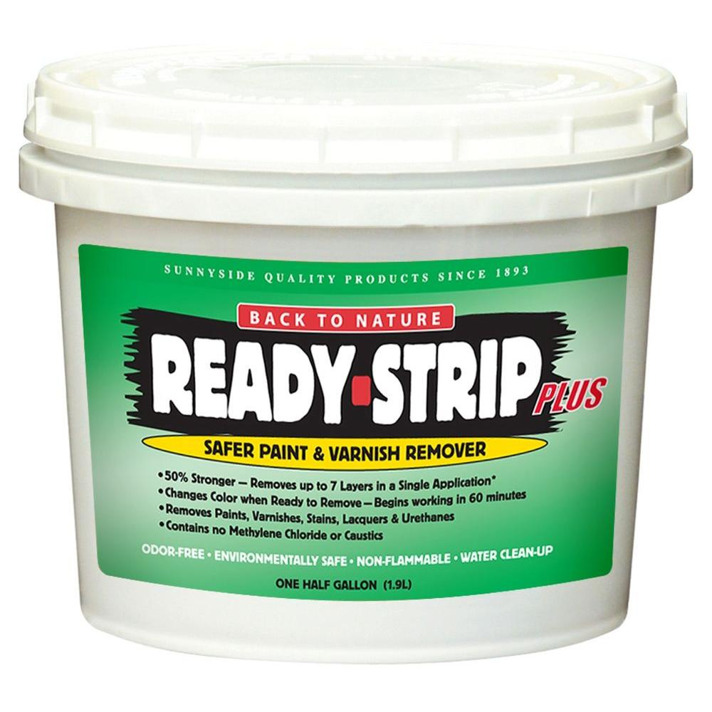 Ready Strip 1 2 Gal Paint And Varnish Remover 65864 The Home Depot