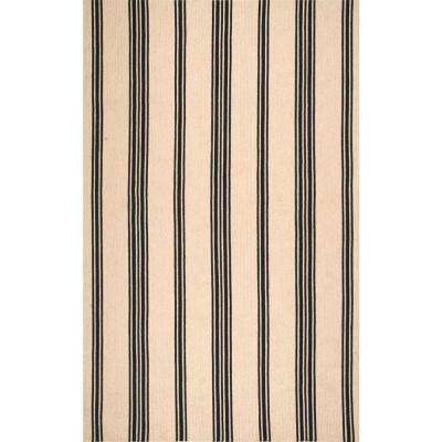 Brenna Striped Natural 8 ft. x 10 ft. Area Rug