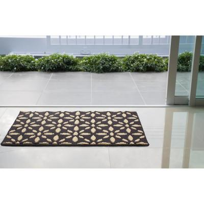 Kelsey Grey/Berber 2 ft. x 4 ft. Loop Area Rug