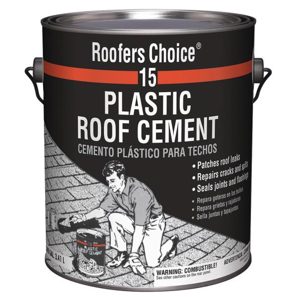 Roofers Choice 0 90 Gal Plastic Roof Cement Rc015142 The