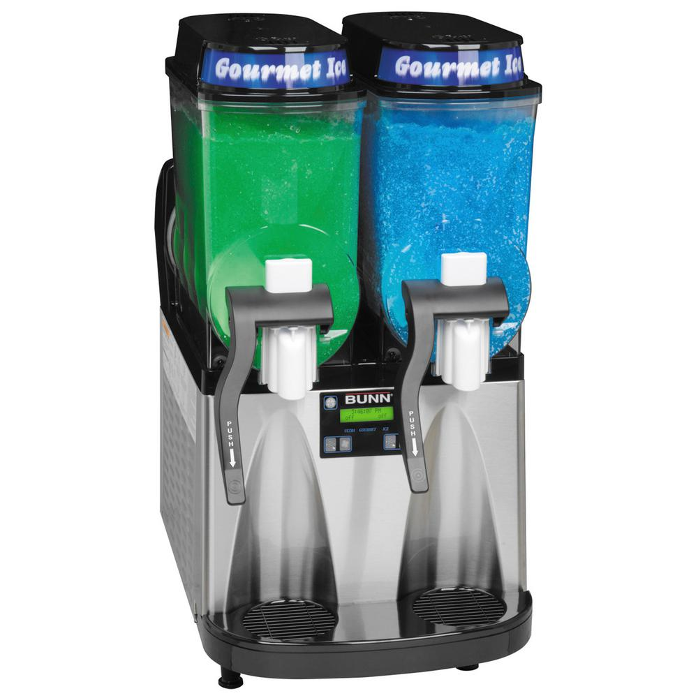 Ultra Black 2-Hopper Slushy Maker