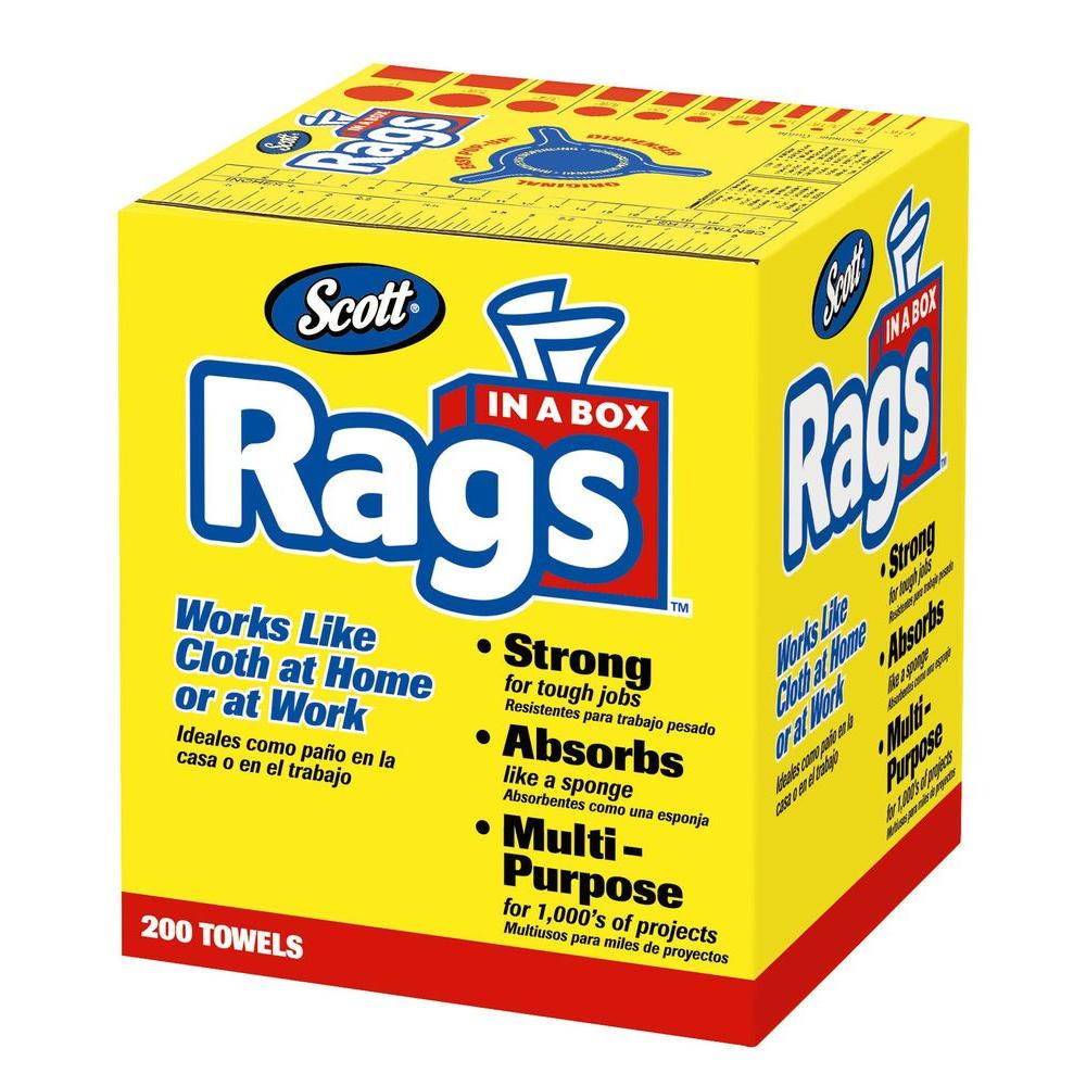 Scott 200-Count Rags in a Box
