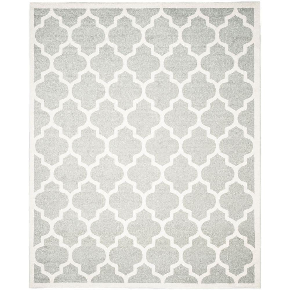 Safavieh Amherst Light Gray Beige 8 Ft X 10 Indoor Outdoor