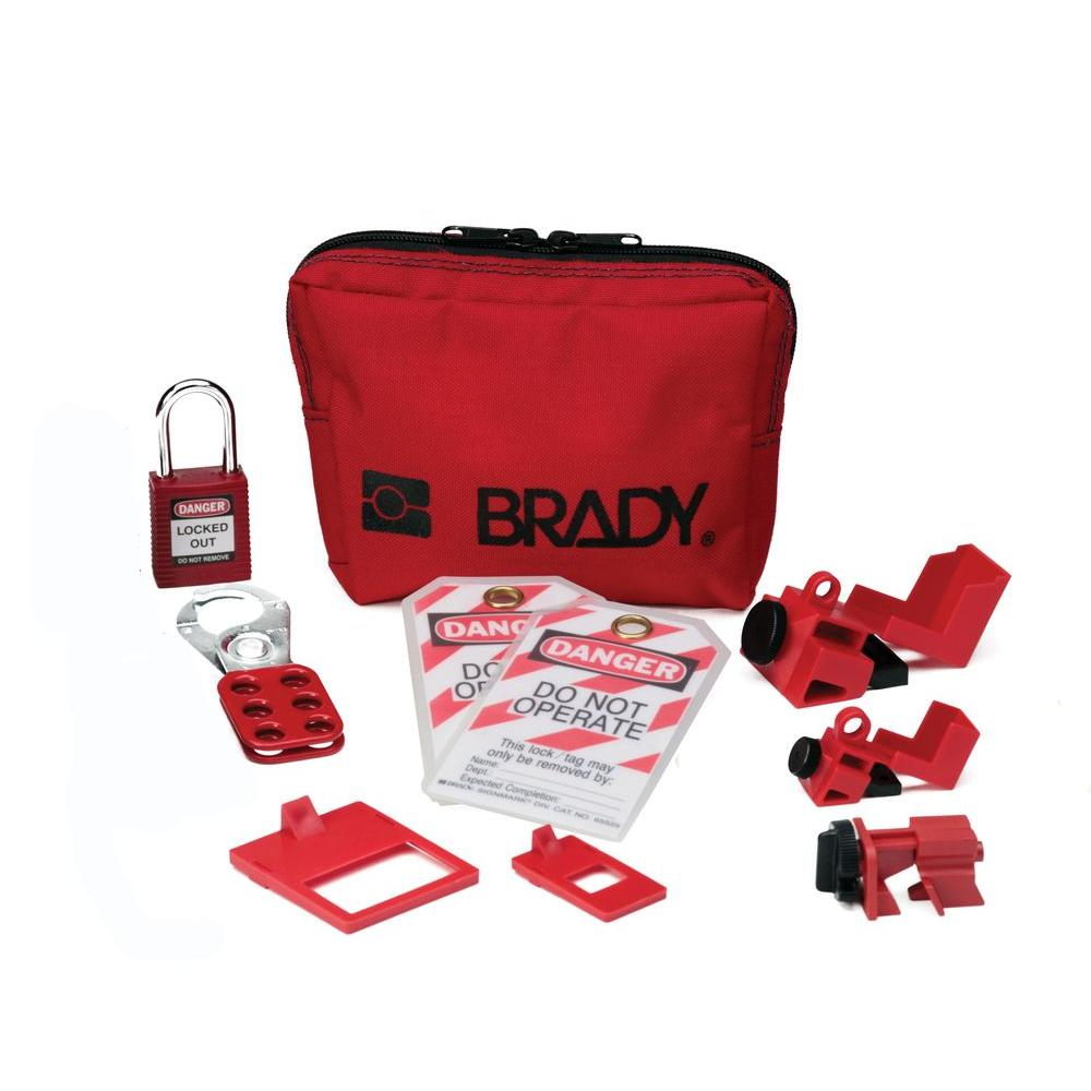 brady personal breaker lockout kit - Lock Out Tag Out Kits